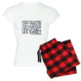 Romeo & Juliet Rose Quote pajamas