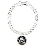 Elizabethan Pyrate Insignia Charm Bracelet, One Ch