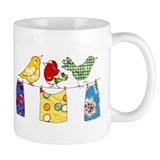 &amp;quot;Multicolor Birdies&amp;quot; Art Mug