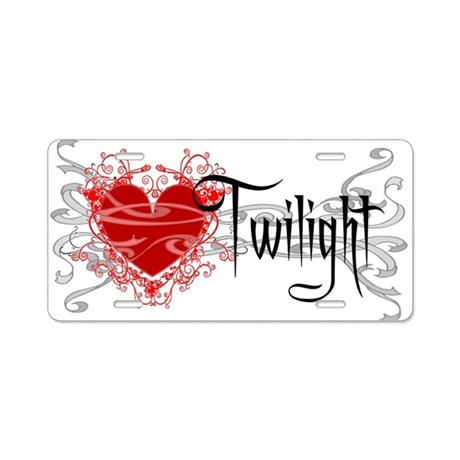 Twilight Movie Aluminum License Plate