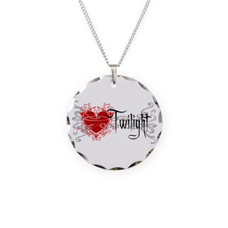 Twilight Movie Necklace Circle Charm