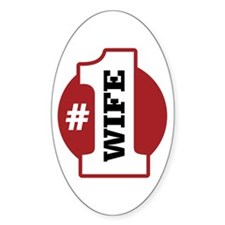 #1 Wife Decal