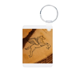 Chasing Pegasus Aluminum Photo Keychain