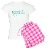 3rd Grade Teacher Swirl pajamas