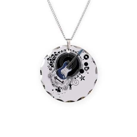 The Alchemy of Music Necklace Circle Charm