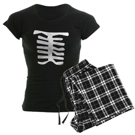 Skeleton Women's Dark Pajamas