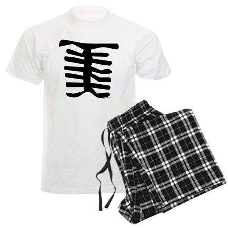 Skeleton Men's Light Pajamas