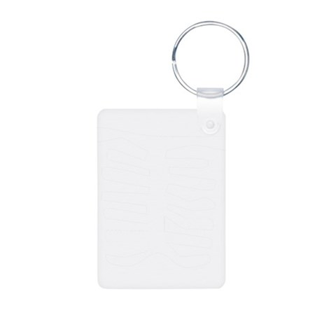 Skeleton Aluminum Photo Keychain