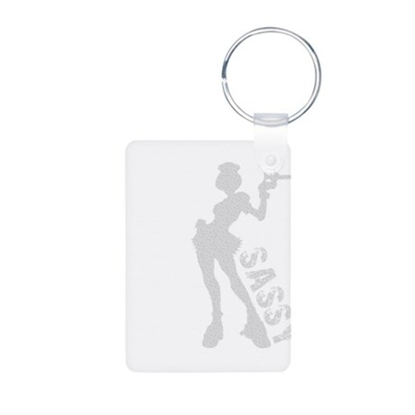 Sassy Nurse Aluminum Photo Keychain