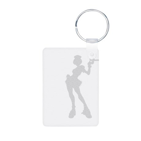 Sexy Nurse Aluminum Photo Keychain