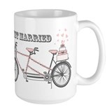 Tandem Bicyle Wedding Coffee Mug