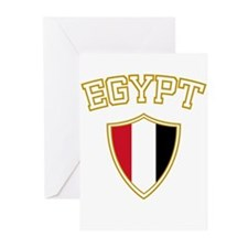 Egypt Crest English Greeting Cards (Pk of 10)