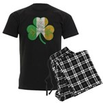 The Masons Irish Clover Men's Dark Pajamas