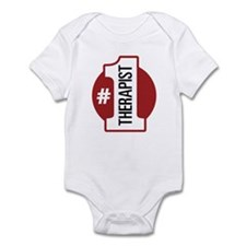#1 Therapist Infant Bodysuit