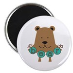 Cartoon Bear Magnet