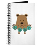 Cartoon Bear Journal
