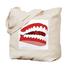 CHATTERING TEETH Tote Bag