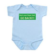 Cute English language learning Infant Bodysuit