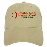 Smile, God Loves You! Cap