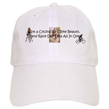 Cycling Race Diva Baseball Cap