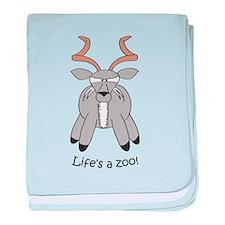 Kudu baby blanket