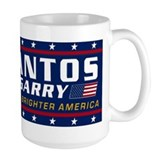 Santos McGarry large mug