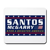 Cute Santos mcgarry Mousepad