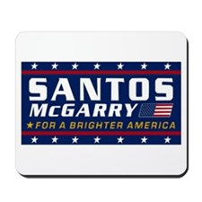 Cute Santos Mousepad
