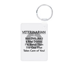 Veterinarian A Real Doctor Keychains