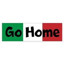 Go Home Custom Bumper Sticker