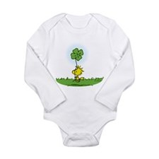 Woodstock Shamrock Long Sleeve Infant Bodysuit