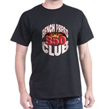 BENCH 350 CLUB Black T-Shirt