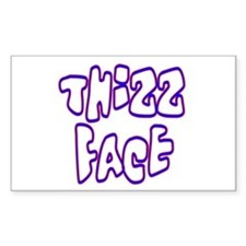 Thizz Face Rectangle Decal