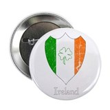 "Vintage Irish Crest 2.25"" Button"