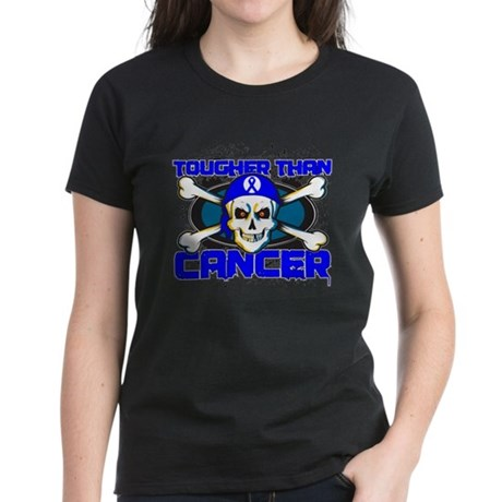 Tougher Than Colon Cancer Women's Dark T-Shirt