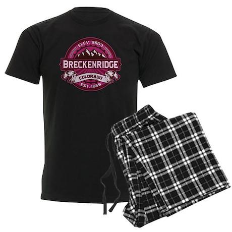Breckenridge Raspberry Men's Dark Pajamas