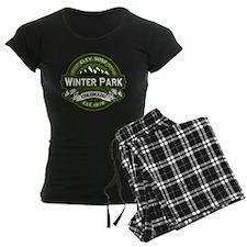 Winter Park Olive Pajamas