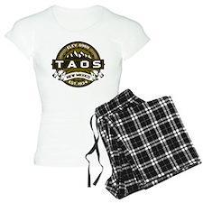 Taos Olive pajamas