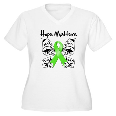 Hope Matters Non-Hodgkins Women's Plus Size V-Neck