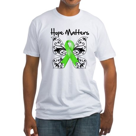 Hope Matters Non-Hodgkins Fitted T-Shirt