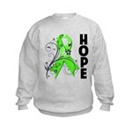 Hope NonHodgkins Lymphoma Kids Sweatshirt