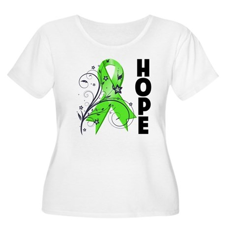 Hope NonHodgkins Lymphoma Women's Plus Size Scoop