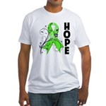 Hope NonHodgkins Lymphoma Fitted T-Shirt