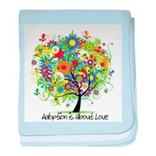 Adoption baby blanket