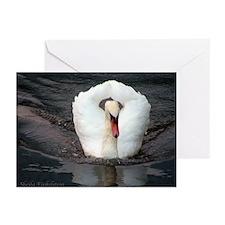 SWAN #2 Greeting Cards (Pk of 10)