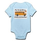 Grandma Drives a Bus - Infant Creeper