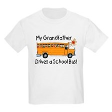 Grandfather Drives a Bus - Kids T-Shirt