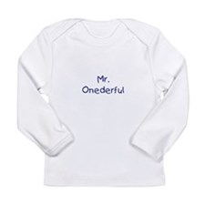Mr. Onederful Long Sleeve Infant T-Shirt