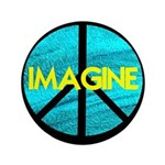 IMAGINE with PEACE SYMBOL 3.5