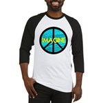 IMAGINE with PEACE SYMBOL Baseball Jersey